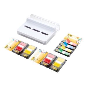 Dispenser Slim Post-it 3M, plastic, 4 culori x 35 file