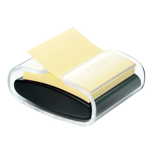 Dispenser notite adezive POST-IT Super Sticky, 76 x 76 mm, 90 file, galben