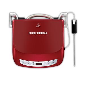 Gratar electric GEORGE FOREMAN Evolve Precision 24001-56, 1440W, rosu