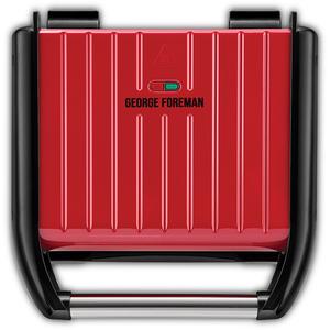 Gratar electric GEORGE FOREMAN Steel Family 25040-56, 1650W, rosu