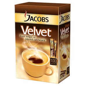 Cafea instant JACOBS Velvet, 100 x 1.8gr
