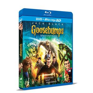 Goosebumps - Iti facem parul maciuca Blu-ray 3D + DVD
