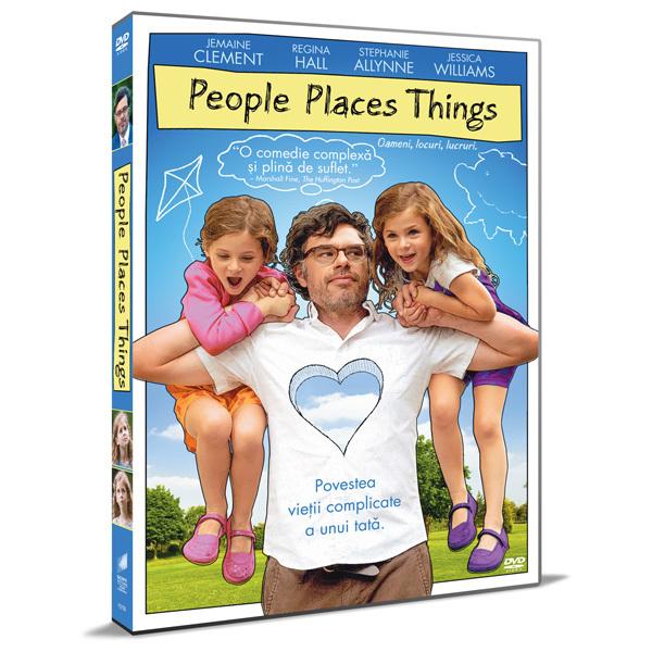 Oameni, Locuri, Lucruri DVD