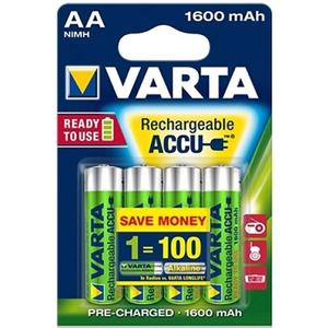 Acumulatori AA VARTA 56716101404, 1600 mAh, 4 bucati