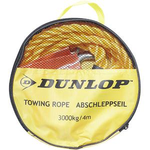 Cablu tractiune auto DUNLOP 40341, 4m, 3000kg