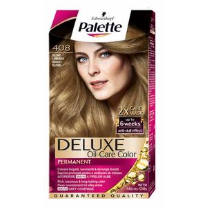 Vopsea de par PALETTE Deluxe, 408 Blond luminos, 115ml