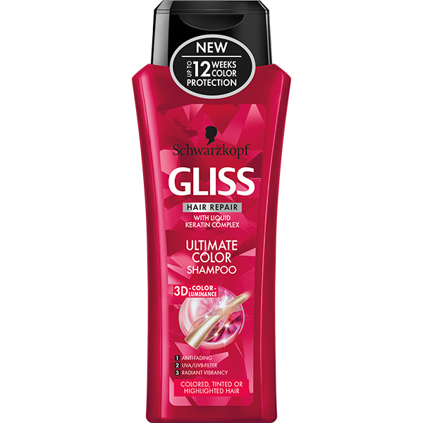 Sampon SCHWARZKOPF Gliss Ultimate Color, 250ml
