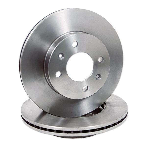 Set discuri frana ventilate DACIA pentru Duster, benzina, 280 mm