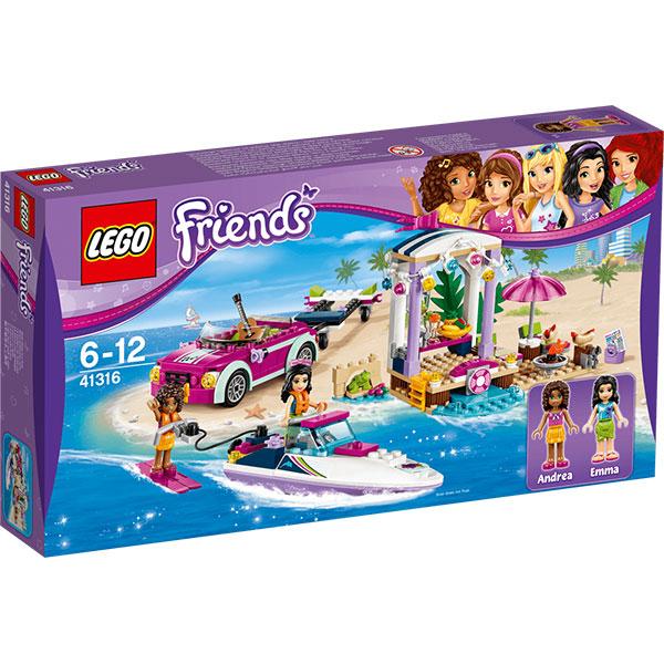LEGO Friends: Barca transportoare cu motor a Andreei, 41316