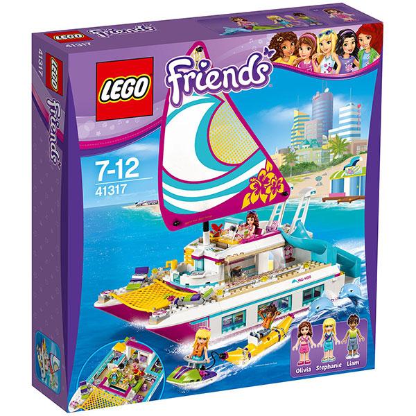 LEGO Friends: Croaziera insorita pe Catamaran, 41317