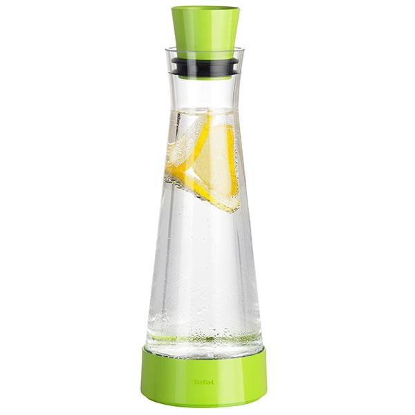 Carafa TEFAL Flow Slim K3054112, 1l, verde