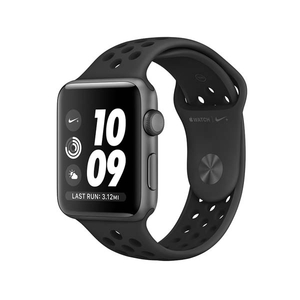 APPLE Watch 3 Nike+ 42mm Space Gray Aluminium Case, Black Nike Sport Band
