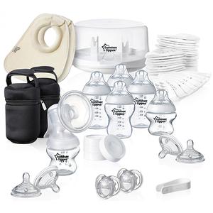 Kit sterilizator pentru microunde TOMMEE TIPPEE, alb