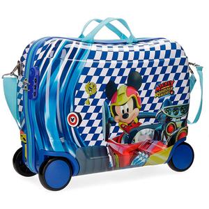 Troler copii DISNEY Mickey Race, 50 cm, albastru