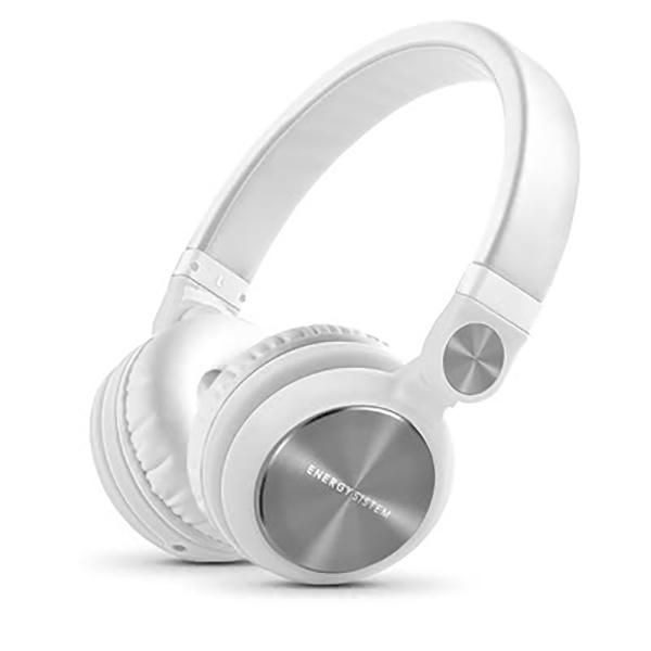 Casti ENERGY SISTEM DJ2 ENS426737, Cu Fir, On-Ear, alb