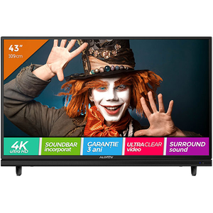 Televizor LED Ultra HD 4K, 109 cm, ALLVIEW 43ATC5000-U