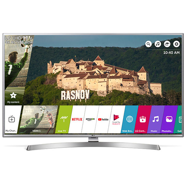 Televizor LED Smart Ultra HD 4K, HDR, 126 cm, LG 50UK6950PLB