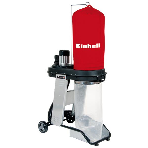 Aspirator industrial EINHELL TE-VE 550 A, 550 W, 1.6 kPa, priza automata 2500 W