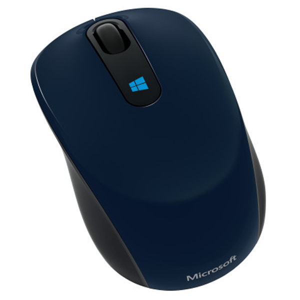 Mouse Wireless MICROSOFT Sculpt Mobile Win 8, 1000dpi, albastru