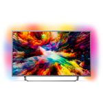 Televizor LED Smart Ultra HD 4K, Android, Ambilight, 108cm, PHILIPS 43PUS7303/12