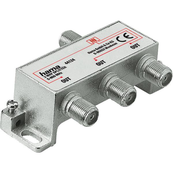 Splitter CATV 3 iesiri HAMA 44124