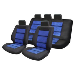 Set huse scaune UMBRELLA Premium Lux 45722, albastru