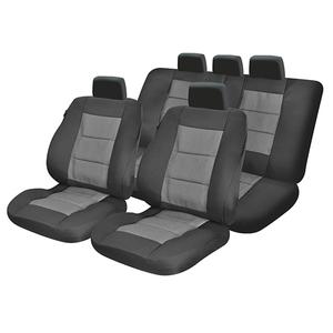 Set huse scaune UMBRELLA Premium Lux M02 45729, gri