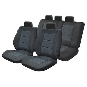 Set huse scaune UMBRELLA Premium Lux M03 45734, negru
