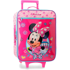 Troler copii DISNEY Minnie Super Helpers, 50 cm, roz