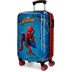 Troler copii MARVEL Spiderman Black 45814.61, 55cm, albastru-rosu