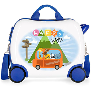 Troler copii ROLL ROAD Little Me Happy 47410.61, 41cm, multicolor