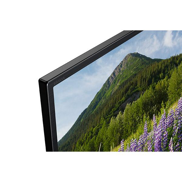 Televizor LED Smart Ultra HD, 4K HDR, 108 cm, Sony BRAVIA KD-43XF7005B, Negru