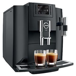 Espressor automat JURA E80, tehnologie P.E.P.®, afisaj TFT, 1.9l, 15 bari, negru