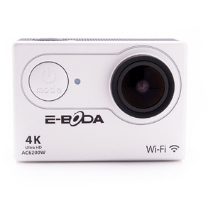 Camera video sport E-BODA AC6200W, 4K, WI-FI, argintiu