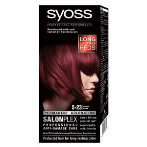 Vopsea de par SYOSS Color Bl, 5-23 Ruby, 115ml