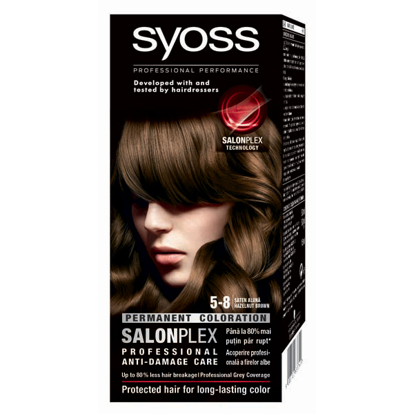 Vopsea De Par Syoss Color Bl 5 8 Saten Aluna 115ml