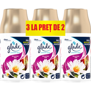 Rezerva GLADE Automatic Spray Relaxing Zen, 3x269 ml