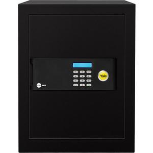 Seif electronic cu cifru YALE YSB/400/EB1, otel, negru