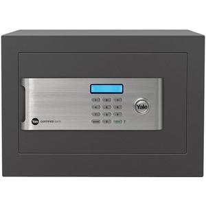 Seif electronic cu cifru YALE YSM/250/EG1, otel, negru