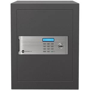 Seif electronic cu cifru YALE YSM/400/EG1, otel, negru