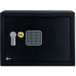 Seif electronic compact YALE YSV/200/DB1, otel, negru