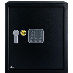 Seif electronic birou YALE YSV/390/DB1, otel, negru