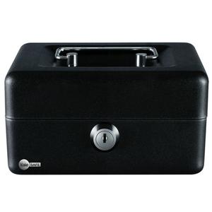 Cutie pentru bani YALE YCB/080/BB2, tabla, negru