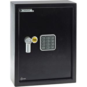 Seif electronic mediu pentru chei YALE YKB/365/DB1, otel, negru
