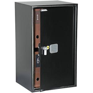 Seif electronic YALE YSV/695/DB1, cifru, otel