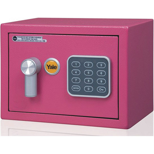 Seif electronic mini YALE YSV/170/DB1/P, otel, Roz