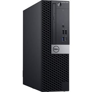 Sistem Desktop PC DELL OptiPlex 5060 SFF, Intel Core i5-8500 pana la 4.1GHz, 8GB, SSD 128GB, Intel® UHD Graphics 630, Windows 10 Pro