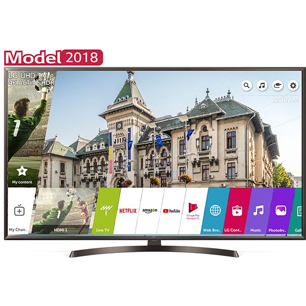 Televizor LED Smart LG 55UK6400PLF, Ultra HD, WebOS AI, 139cm