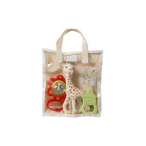 VULLI - Set cadou saculet Girafa Sophie