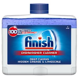 Solutie curatare pentru masina de spalat vase FINISH, 250 ml